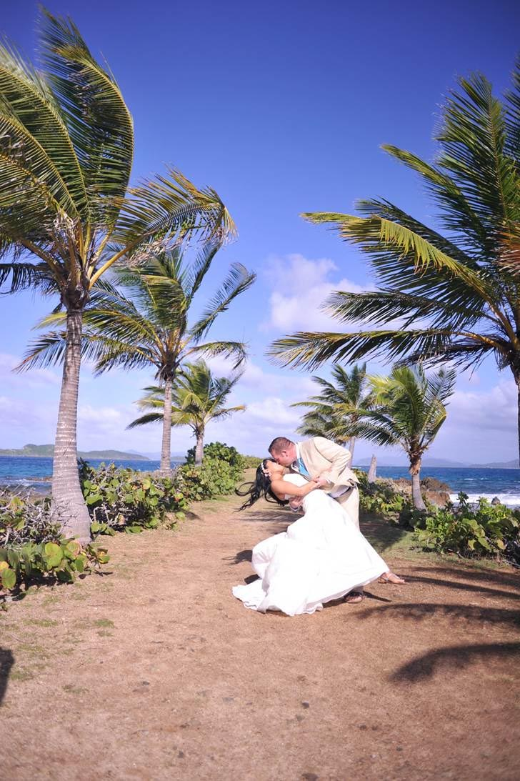 perfect caribbean wedding