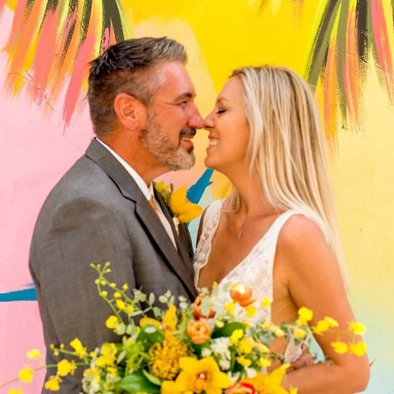 Something in my soul connects with something in his soul and that connection is what makes it work. Never settle for less. 📷 by @brookeheikkila_photographer 🌼 by @eastendflowershop love of my life @virginislandsweddingofficiate location
