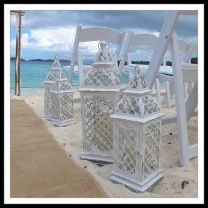 lanterns white