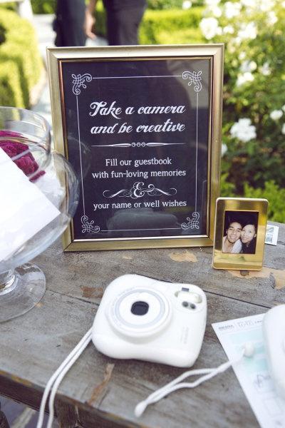 Instax Polaroid Guest Book | Island Bliss Weddings