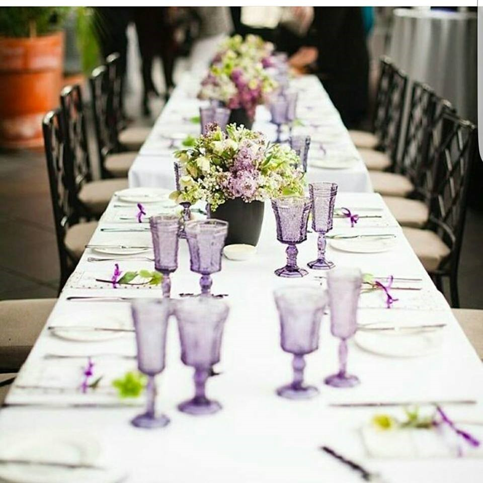 How will you make your reception tables stand out?   Island Bliss ...