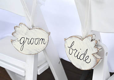 Bride And Groom Favor