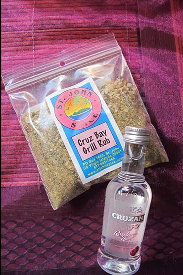 Cruz Bay Grill Rub And Cruzan Raspberry Rum