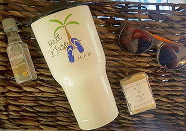 Island Bliss Wedding Favors