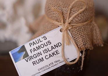 Paul's Famous Virgin Island Rum Cake
