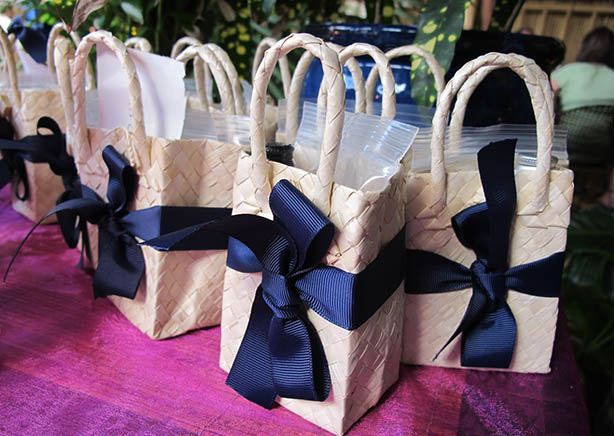 Destination Wedding Favors for St. Thomas & St. John Weddings