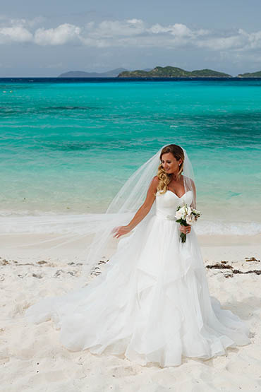 Sand Sea and St John Wedding Package