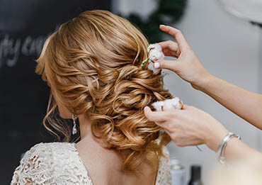 Wedding updos for the perfect wedding day look.